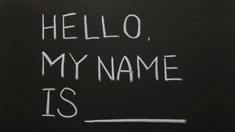 Adult name change Texas