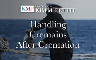 Handling Cremains After Cremation
