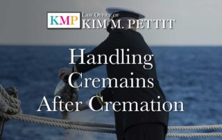 Handling Cremains After Cremation