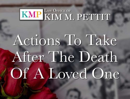 Actions to Take After the Death of a Loved One