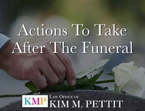 Actions to Take After the Funeral