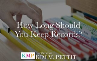 How Long Should You Keep Records?