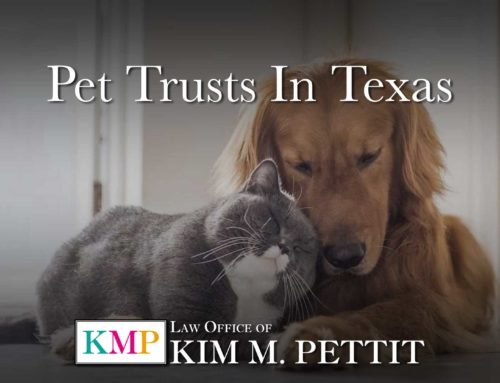 Pet Trusts in Texas