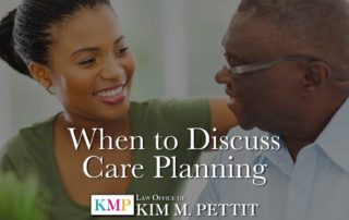When to Discuss Care Planning
