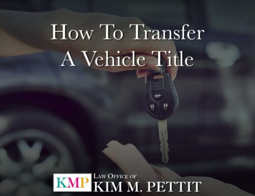 How to Transfer a Vehicle Title